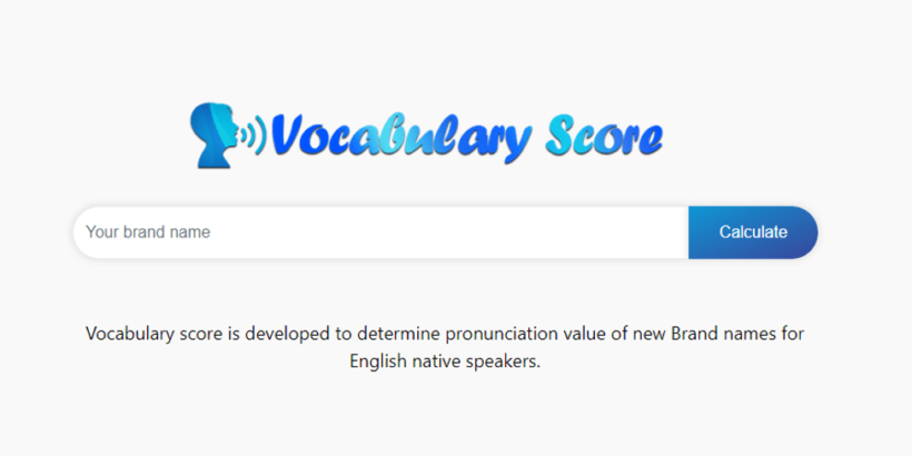 Vocabulary score search